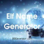 Elf Name Generator Tools