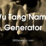 Wu Tang Name Generator